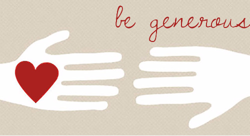 December - Be Generous