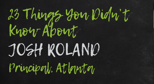 Josh Roland, Atlanta Principal