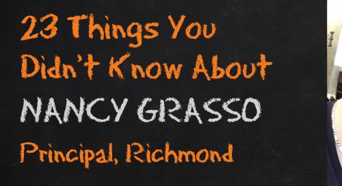 Nancy Grasso, Richmond Principal