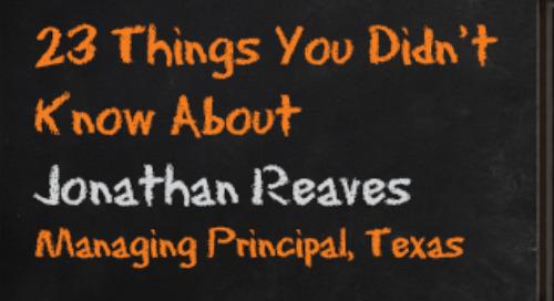 Jonathan Reaves, Texas Managing Principal