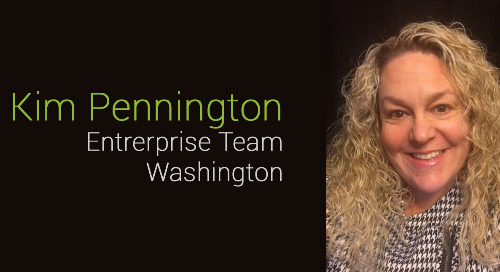 Way to go, Kim Pennington!