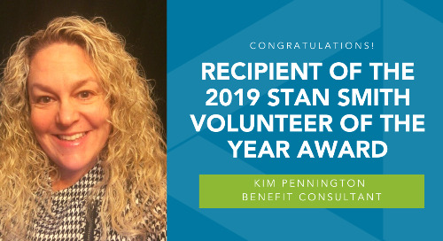 Congratulations, Kim Pennington!