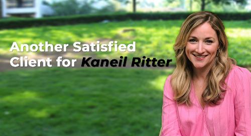 Kudos for  Kaneil Ritter