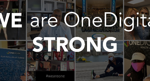 March - WE are OneDigital Strong