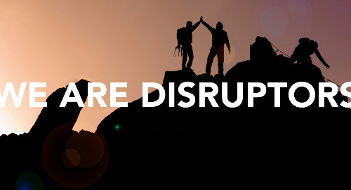 April - WE are Disruptors