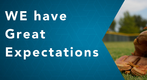August - WE have Great Expectations