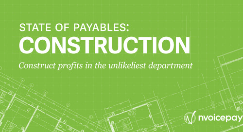 State of Payables: Construction