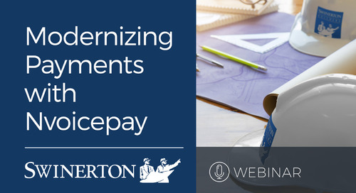 Swinerton Modernizes Supplier Payments with Nvoicepay