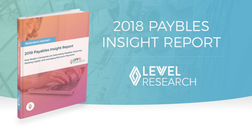 Payables Insight Report for Q1 2018