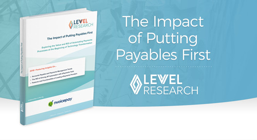 The Impact of Putting Payables First, with Levvel Research