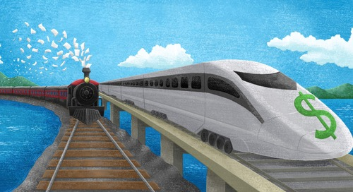 It's Time to Put Your Payments on the Fintech Bullet Train