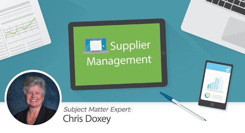 Taking Control of Your Supplier Master File