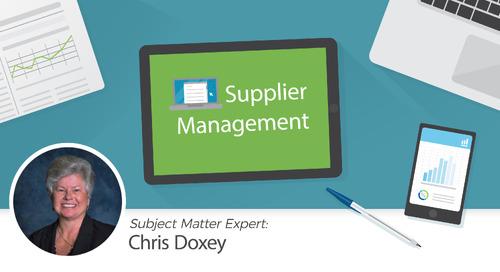 Supplier Master Coding Standards