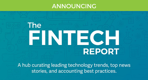 Announcing New Publication — The Fintech Report