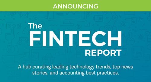 Announcing New Publication — The Fintech Report