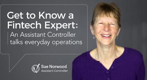 Get to Know a Fintech Expert — Everyday Operations from an Asst Controller