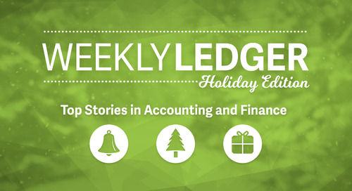 Weekly Ledger: Holiday '17 Edition