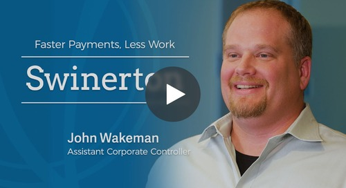 Customer Takeaway: Faster Payments, Less Work