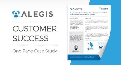Customer Success: Alegis Construction