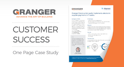 Customer Success: Granger Construction
