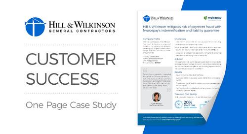 Customer Story: Hill & Wilkinson
