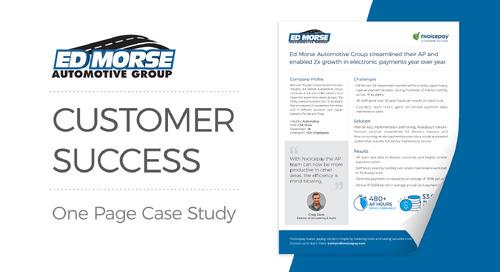 Customer Story: Ed Morse Automotive Group