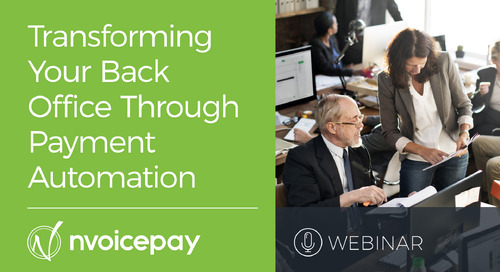 Transforming Your Back Office through Payment Automation
