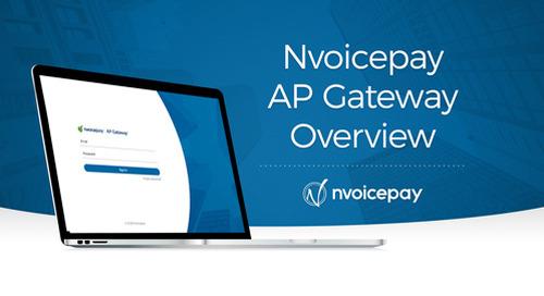 Nvoicepay AP Gateway Overview