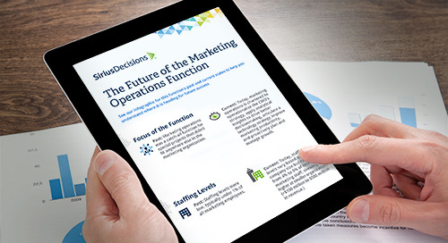 The Future of Marketing Operations