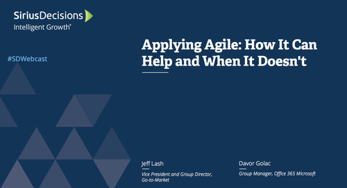 Applying Agile: How It Can Help and When It Doesn't Webcast Replay