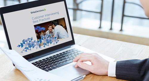 Customer Interviewing Best Practices Brief