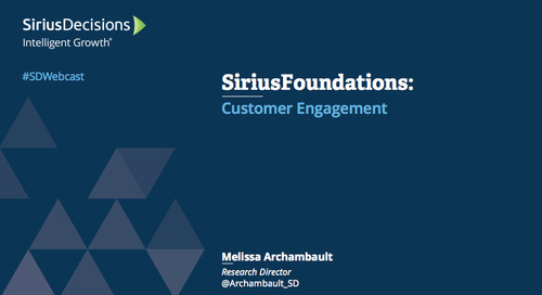 SiriusFoundations: Customer Engagement Webcast Replay