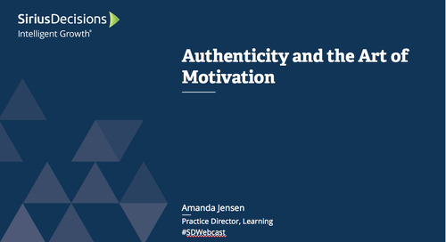 Authenticity and the Art of Motivation Webcast Replay