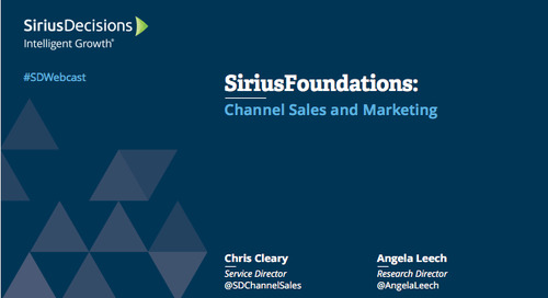 SiriusFoundations: Channel Marketing and Sales Webcast Replay