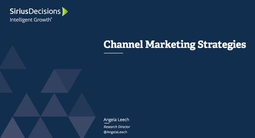 Channel Marketing Priorities