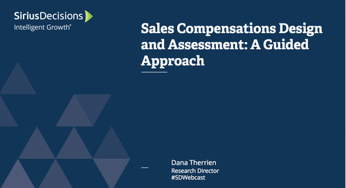 Sales Compensation Plan Design and Assessment: A Guided Approach Webcast Replay
