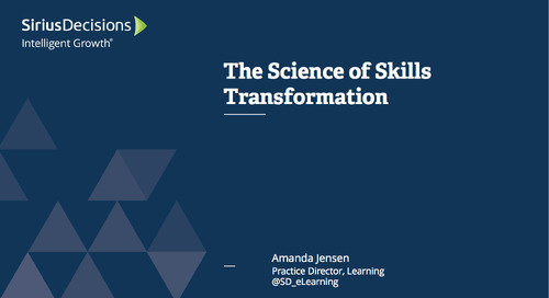 The Science of Skills Transformation Webcast Replay