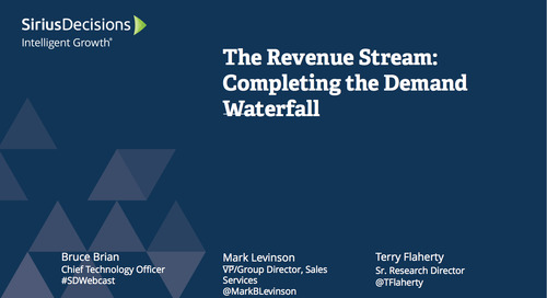The Revenue Stream: Completing the Demand Waterfall Webcast Replay