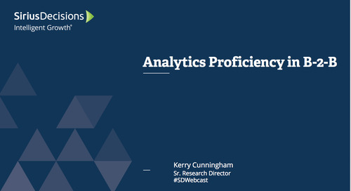 Analytics Proficiency in B-to-B Webcast Replay