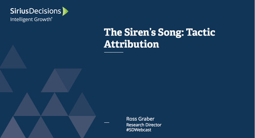 The Siren's Song: Tactic Attribution Webcast Replay