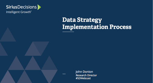 Data Strategy Implementation Process Webcast Replay