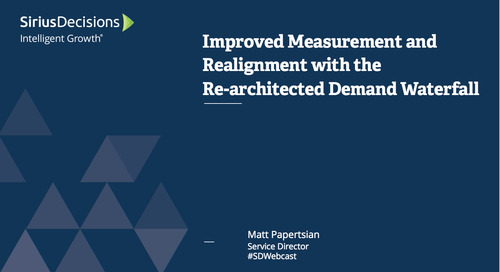 Improved Measurement and Alignment with the Rearchitected Demand Waterfall Webcast Replay