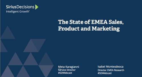 Regional Perspective: The State of EMEA Sales, Product and Marketing Webcast Replay
