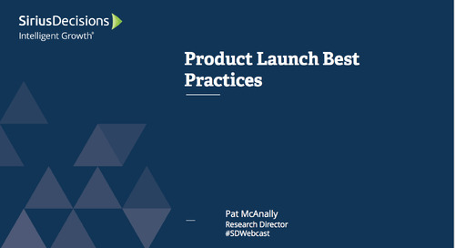 Product Launch Best Practices Webcast Replay