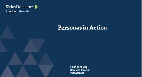 Personas in Action Webcast Replay