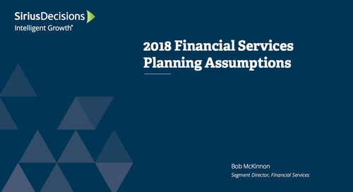 Planning Assumptions for 2018: Financial Planning Webcast Replay
