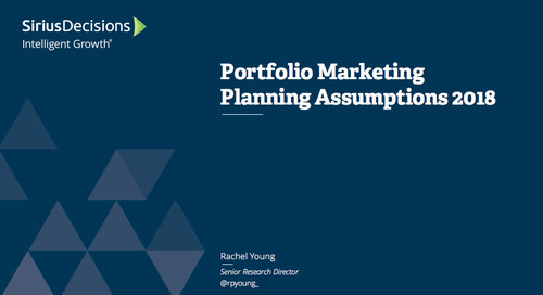Planning Assumptions for 2018: Portfolio Marketing Webcast Replay