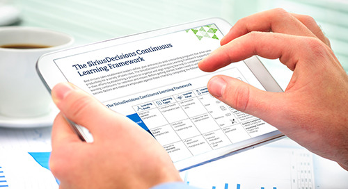 The SiriusDecisions Continuous Learning Framework