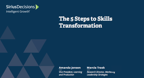 5 Steps to Skills Transformation Webcast Replay