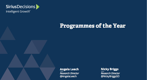 EMEA Programme of the Year Webcast Replay